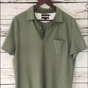 Light olive banana republic polo